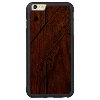 Rustic Wood - Wood Phone Case - SRF Carved® Walnut iPhone 6 Plus Bumper