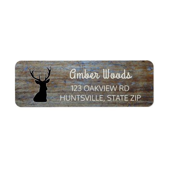 Rustic Wood | Woodland Buck Deer
