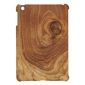 Rustic Wooden Teak Wood Woodgrain iPad Mini Case