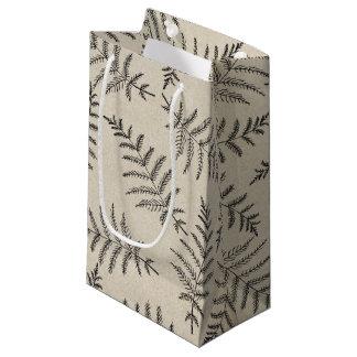 Rustic Woodland Ferns Wedding Small Gift Bag