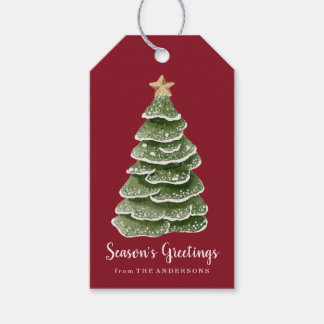 Rustic Woodland   Holiday Gift Tags