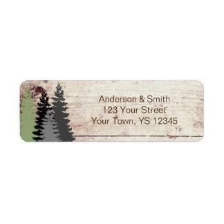 Rustic Woods Evergreen Pine