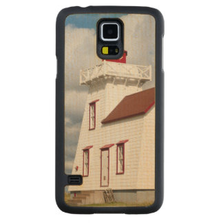 Rustico Harbour, Prince Edward Island. Carved Maple Galaxy S5 Case
