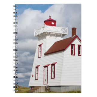Rustico Harbour, Prince Edward Island. Spiral Notebook