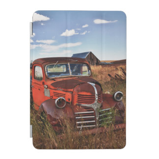 Rusting orange Dodge truck with abandoned farm iPad Mini Cover