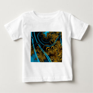 Rustling Leaves Abstract Fractal Design T-shirt