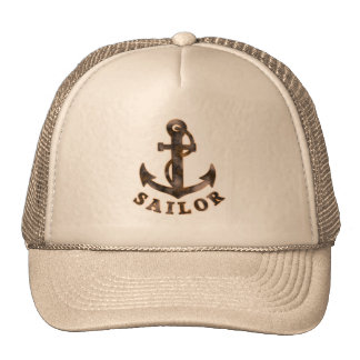 Rusty Anchor Trucker Hat