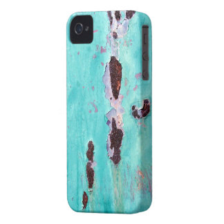 Rusty Aqua Metal Photo Texture iPhone 4/4S Case