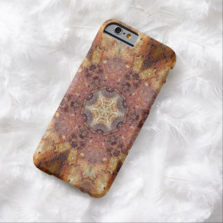 Rusty art kaleidoscope barely there iPhone 6 case
