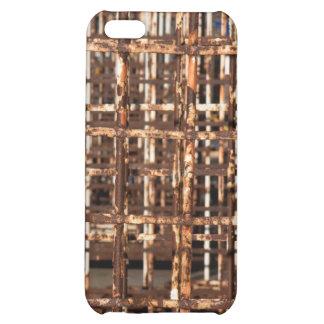 Rusty bars iPhone 5C case