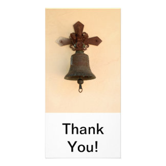 Rusty Bell Photo Greeting Card