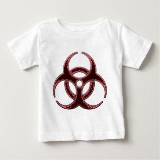 Rusty Bio Hazard Symbol Baby T-Shirt