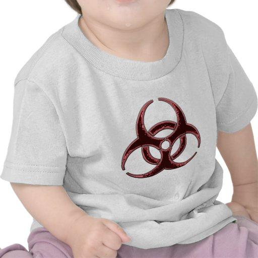 Rusty Bio Hazard Symbol Shirt