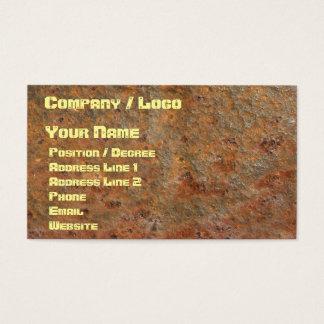 Rusty Business Card