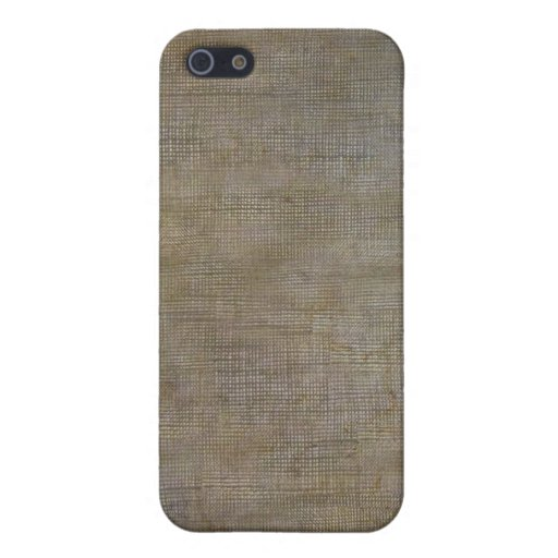 Rusty Canvas Cases For iPhone 5
