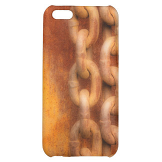 Rusty Chains iPhone 5C Covers
