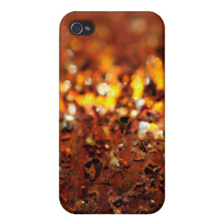 Rusty chrome iPhone 4 cover
