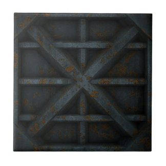 Rusty Container - Black - Tiles