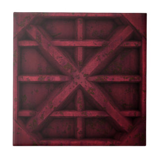 Rusty Container - Red - Tiles