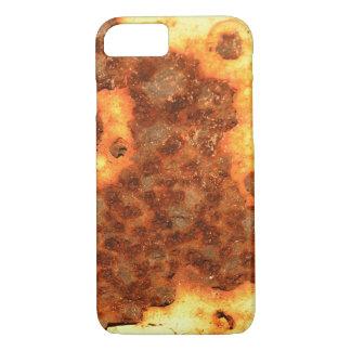 rusty design art iPhone 7 hard case
