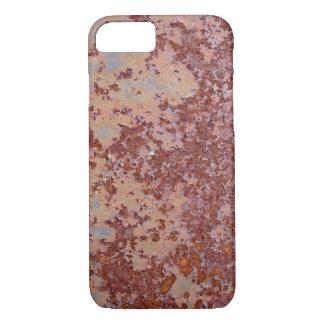 rusty design iPhone 7 hard case