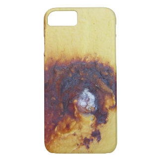 rusty design plate iPhone 7 hard case