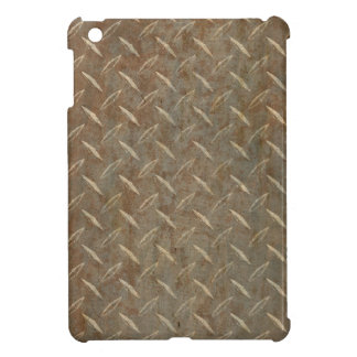 Rusty Diamond Plate iPad Mini Cover
