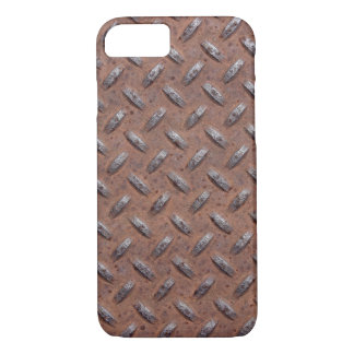 rusty diamond plate iPhone 8/7 case
