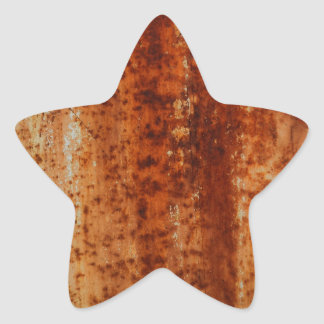 Rusty distressed artistic grunge background star stickers