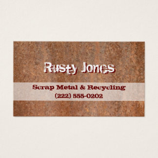 Rusty Edge Business Card