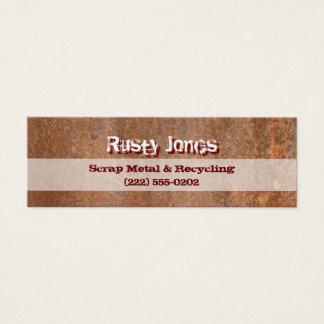 Rusty Edge Mini Business Card