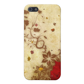 Rusty Fall iPhone 5 Cases