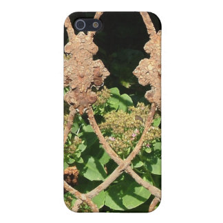 Rusty Fence Cover For iPhone 5