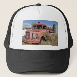 Rusty Fire Truck Trucker Hat