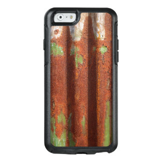 Rusty Green Corrugated Metal Burn Create Your Own OtterBox iPhone 6/6s Case