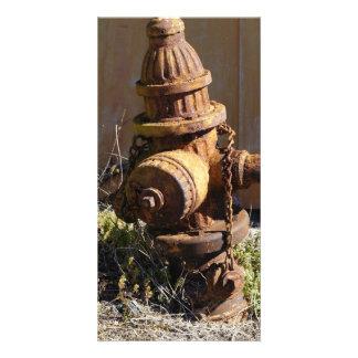 Rusty Hydrant Photo Greeting Card