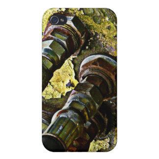 Rusty Hydraulic Tractor Hoses iPhone 4 Case