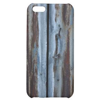 Rusty iron door iPhone 5C cases