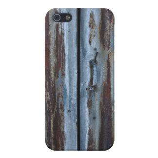 Rusty iron door case for iPhone 5