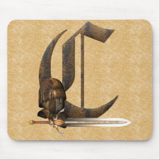 Rusty Knights Initial C Mouse Mat