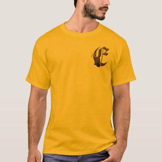 Rusty Knights Initial E T-Shirt