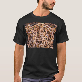 Rusty Links Black Tee Shirt