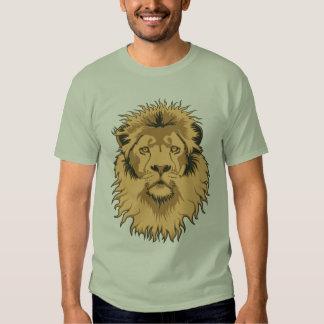Rusty Lion Head Basic T-Shirt