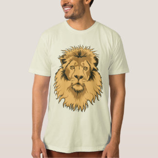 Rusty Lion Head Organic T-Shirt