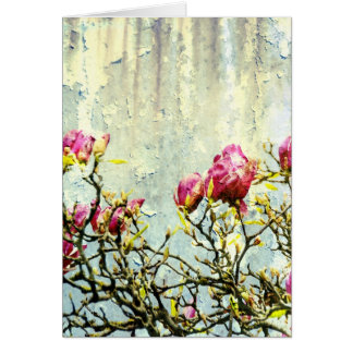Rusty Magnolia Card