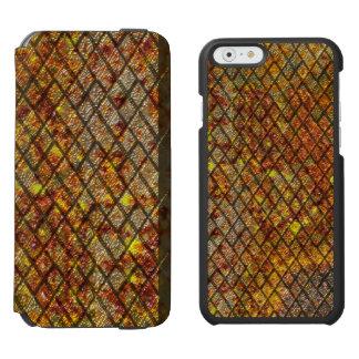 Rusty Metal Metallic Incipio Watson™ iPhone 6 Wallet Case
