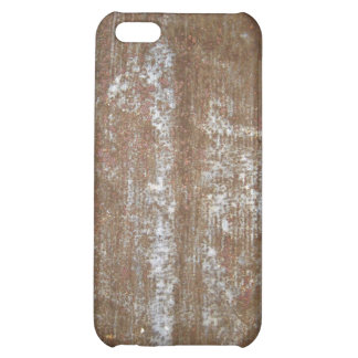 Rusty Metal Plate With Screws iPhone 5C Cover