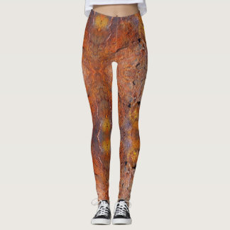 Rusty Metal - power Yoga put-went Leggings