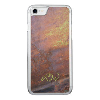 Rusty Metal Tin Roof Carved iPhone 7 Case