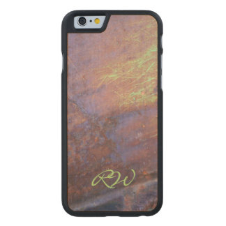Rusty Metal Tin Roof Carved® Maple iPhone 6 Slim Case